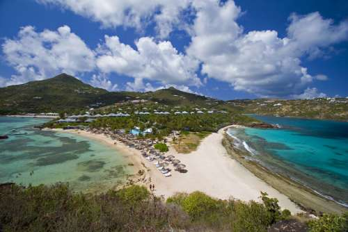 Hotel Guanahani & Spa view from the sky image, St. Barts