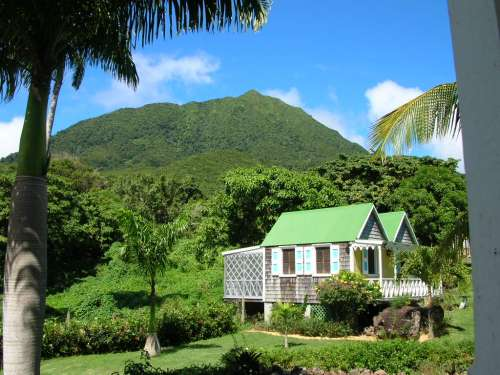 The Hermitage Plantation, Nevis villa