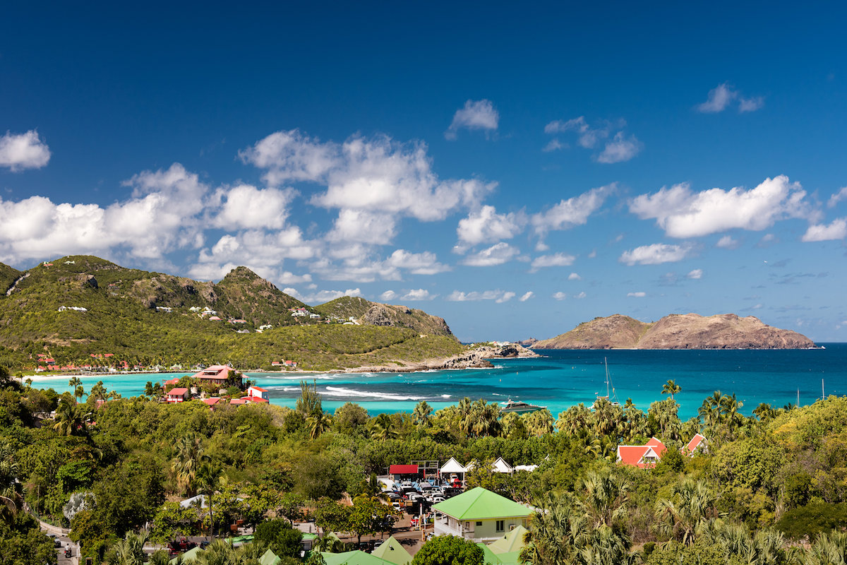 Saint Jean View on St. Barts