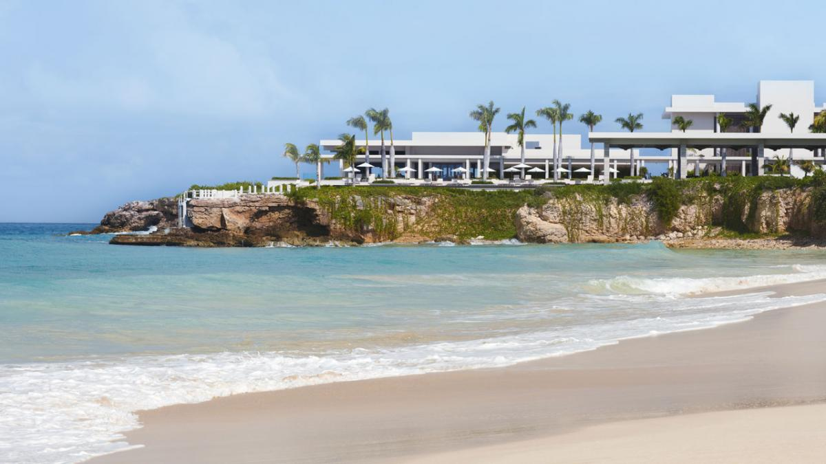 Viceroy Three Bedroom Beachfront Villa Barnes bay beach from the Villas at Viceroy Resort image, Anguilla