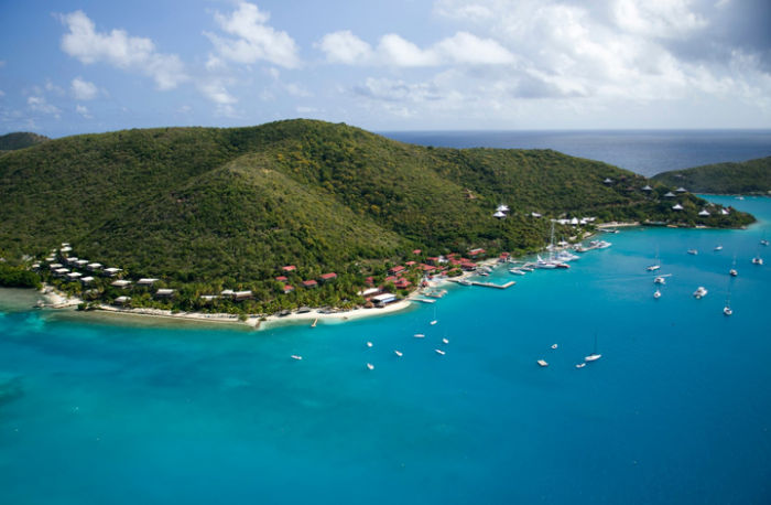 Bitter End Yacht Club Resort Aerial View image, Virgin Gorda, BVI