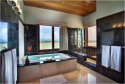 Ensuite bathroom includes a large jacuzzi tub