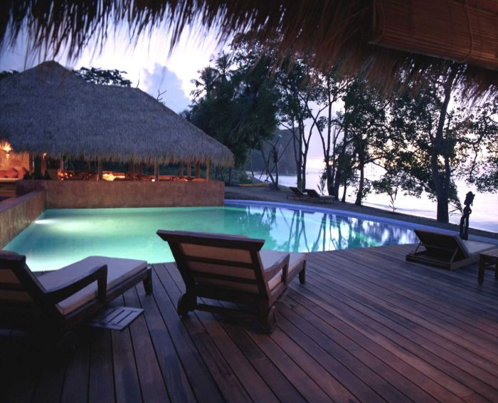 Laluna pool at sunset image, Grenada