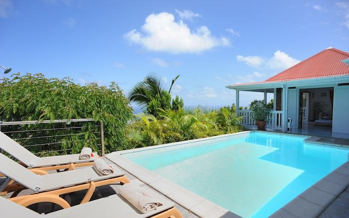 Ocean views from the pool at Anais villa!