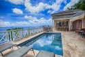 Private pool with amazing views of the caribbean at Summer Heights