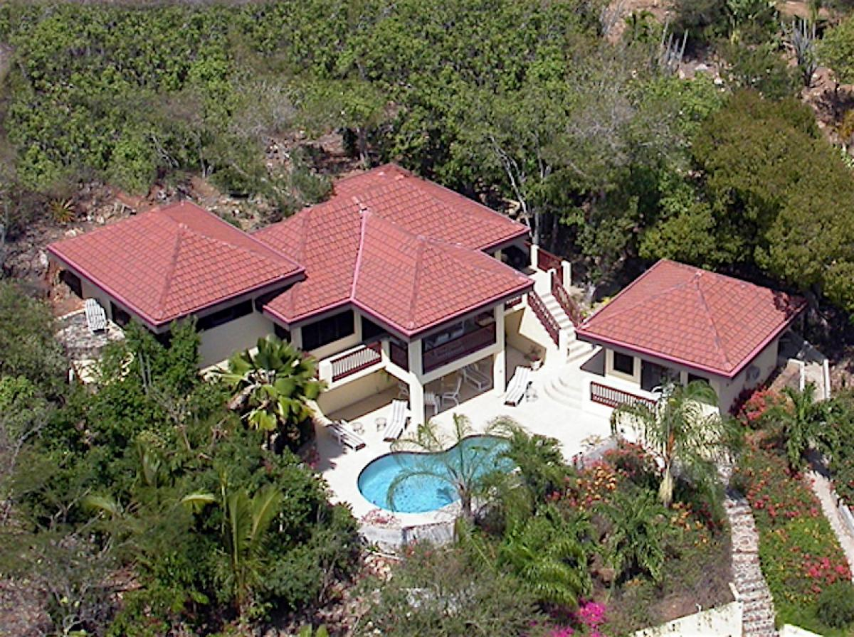 Aerial View of Satori Villa