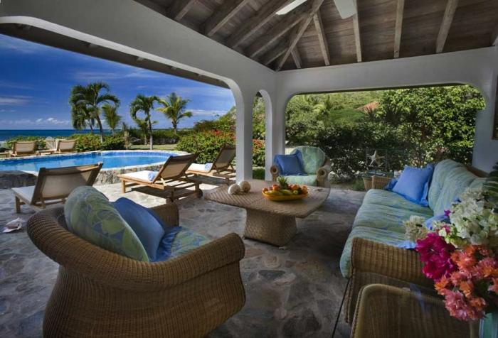 Villa on the Beach on Virgin Gorda, BVI