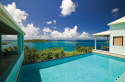 Amazing ocean views from the pool area at Anniversary House Villa