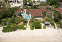 An aerial view of Beachcomber villa!