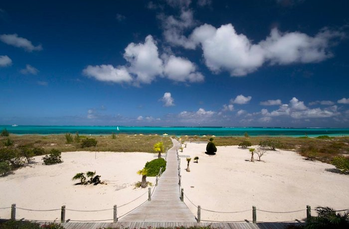 Beach House Access to the beachfront. image, Turks and Caicos