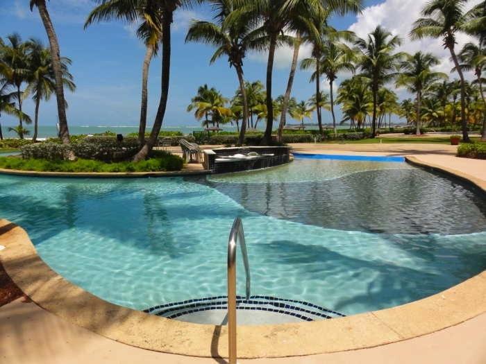 rio mar beach resort 1 bedroom ocean villa puerto rico. Black Bedroom Furniture Sets. Home Design Ideas