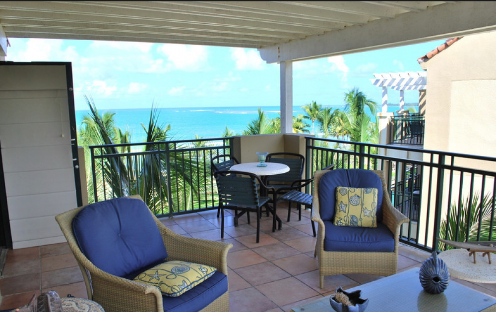 rio mar beach resort penthouse ocean villa puerto rico. Black Bedroom Furniture Sets. Home Design Ideas