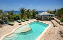 View to the ocean from the pool at The Carib House!