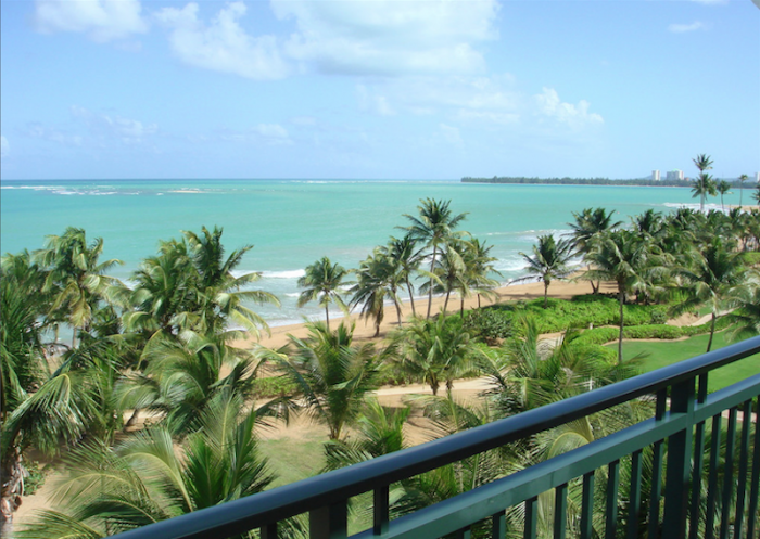Rio Mar Beach Resort Ocean Villa Balcony views of the ocean and beach. image, Puerto Rico