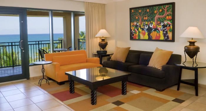 Rio Mar Beach Resort Ocean Villa Living area with great ocean views! image, Puerto Rico