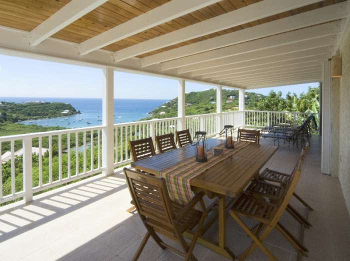 Crystal Sea View Villa on St. John