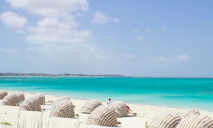 The Regent Palms Beach In Front Of VIlla image, Turks and Caicos