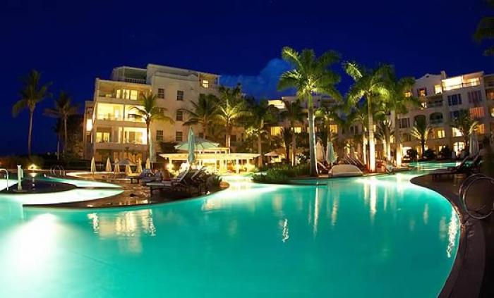 The Regent Palms Pool By Night image, Turks and Caicos