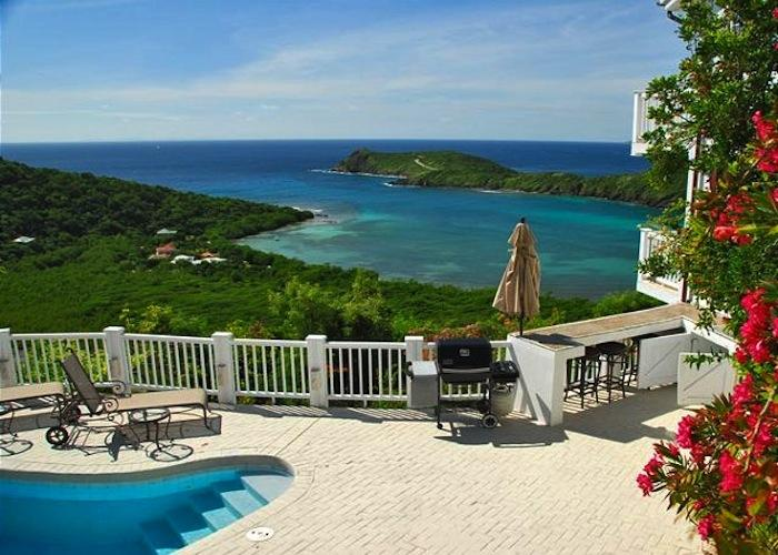 Stunning ocean views from Unicorn villa!
