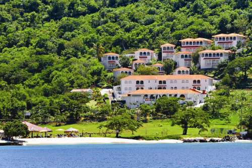 Mount Cinnamon View of the Mount Cinnamon Resort and Beach Club. image, Grenada