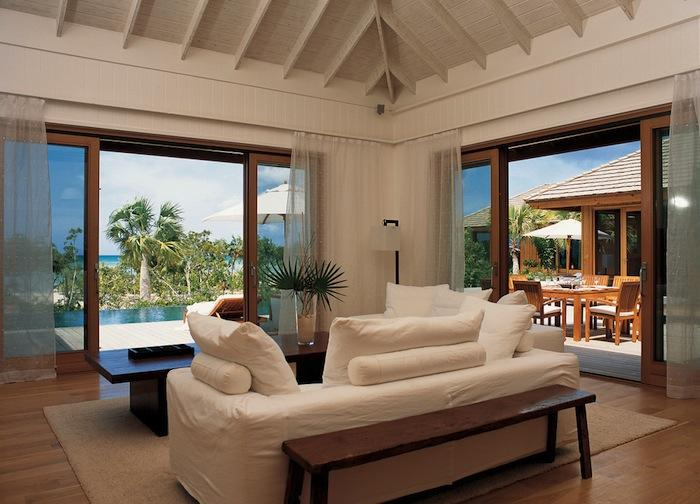 Parrot Cay Resort- Rocky Point Villa on Turks and Caicos