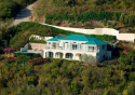 Aerial shot of Le Virage Villa