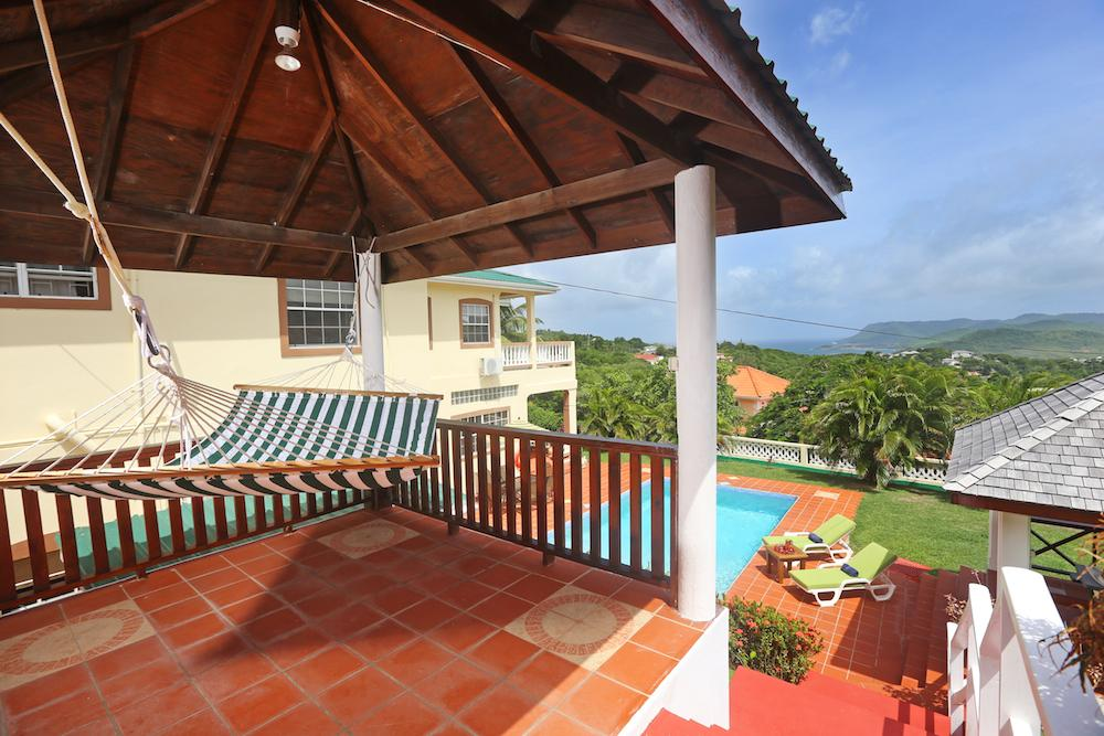 Decaj Villa on St. Lucia