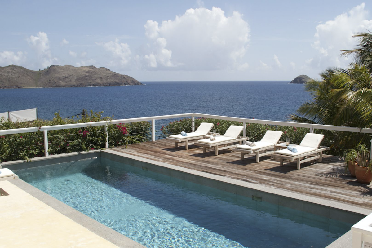 Enjoy amazing views of the Caribbean from ABT villa