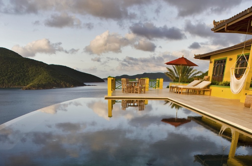 Golden Pavilion on Tortola, BVI
