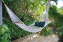 Hammock in the gardens.