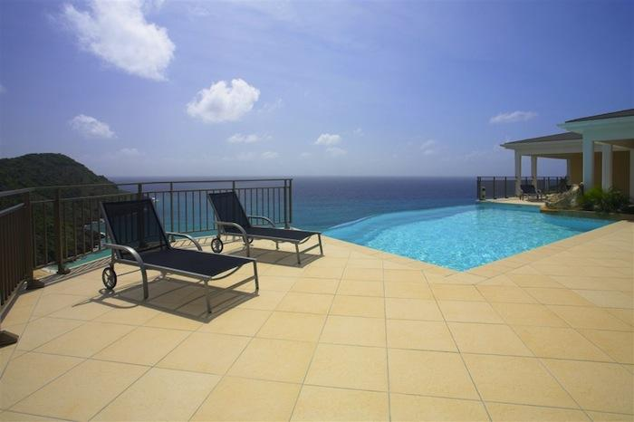 Pool to ocean views!