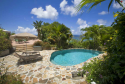 Pool and ocean views from Sunset Watch villa!