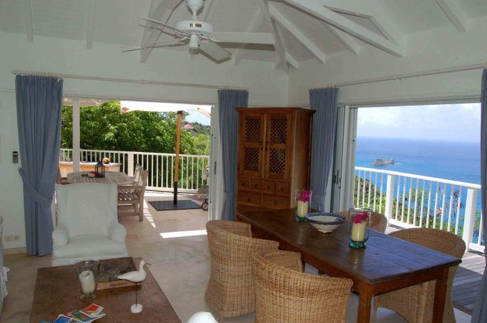 Seaview Villa on St. Barts