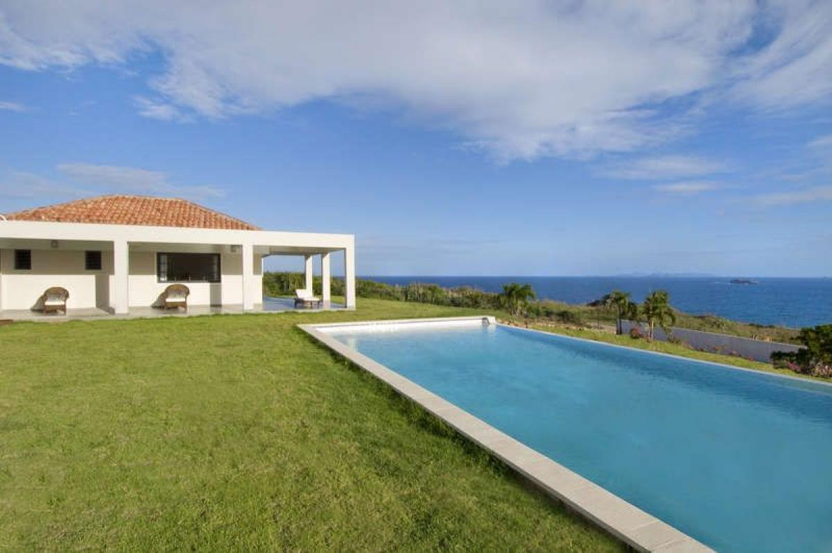 Amazing infinity edge pool with views of theCaribbean at Eden Rock Villa
