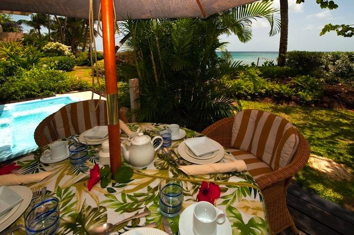 Reeds House #5 Surf's Up Directly next to the pool is a table perfect for al fresco dining image, Barbados