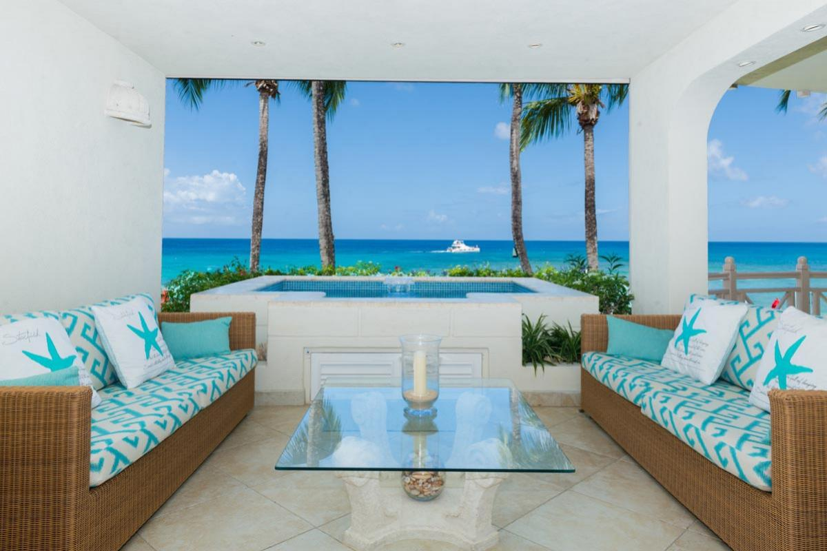 Reeds House #9 Outside seating image, Barbados