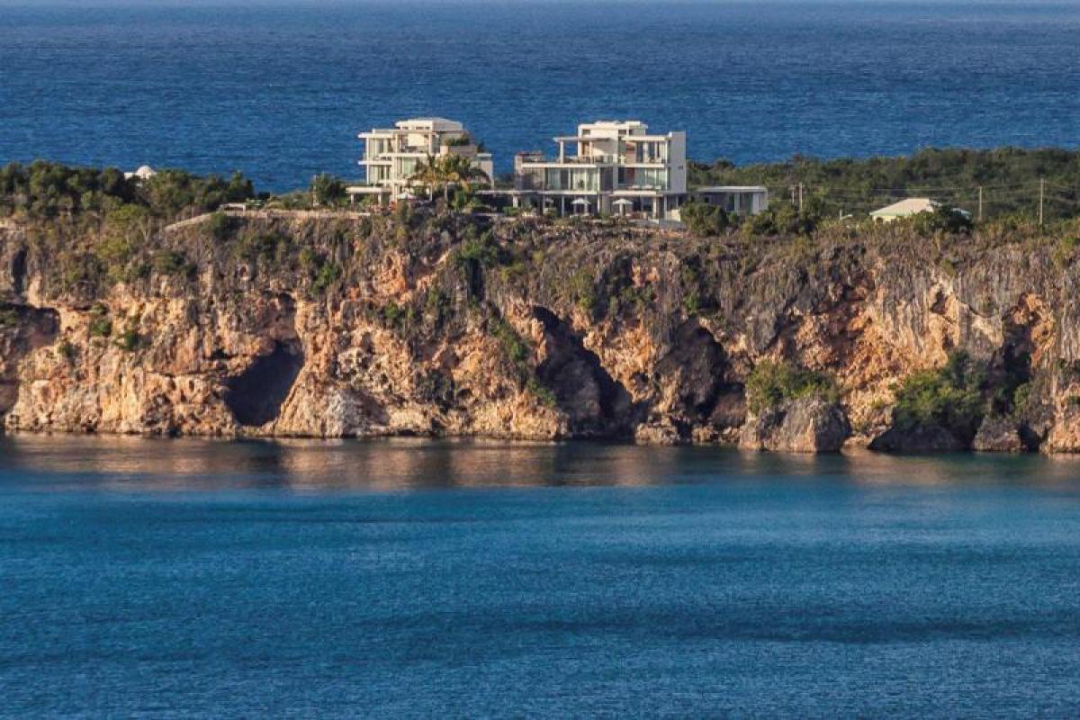 Ani Villas Estate is a promanate feature on the Anguillian Coast at Little Bay