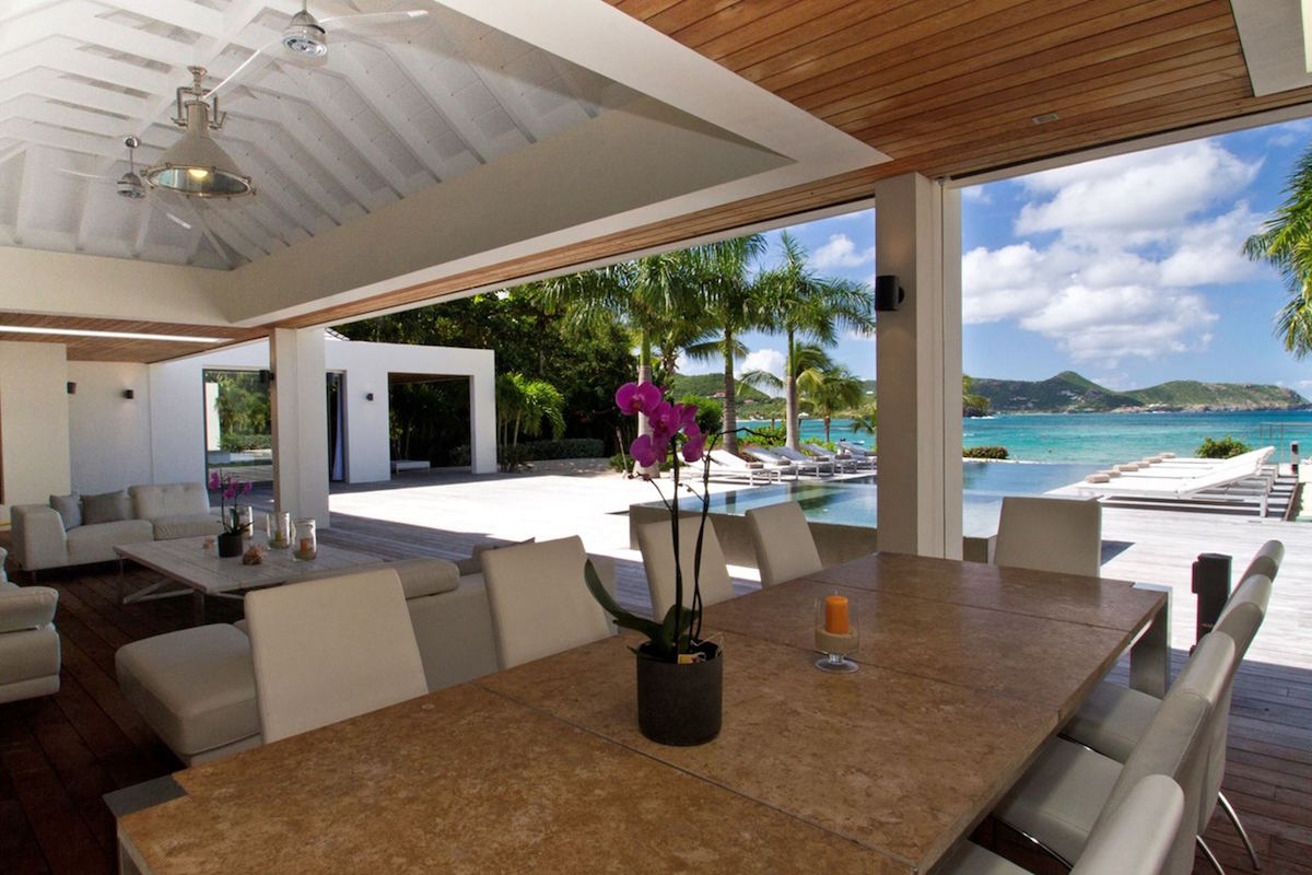 Palm Beach Villa on St. Barts
