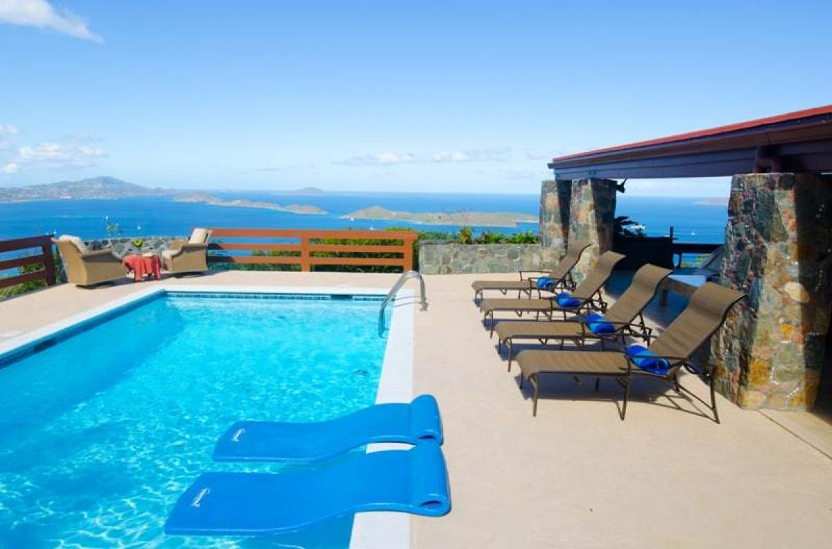 Spell-binding ocean and island views from Spellbound Villa!