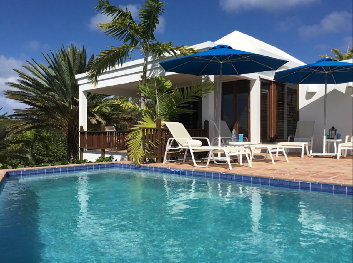 Beach Palm Villa on Anguilla