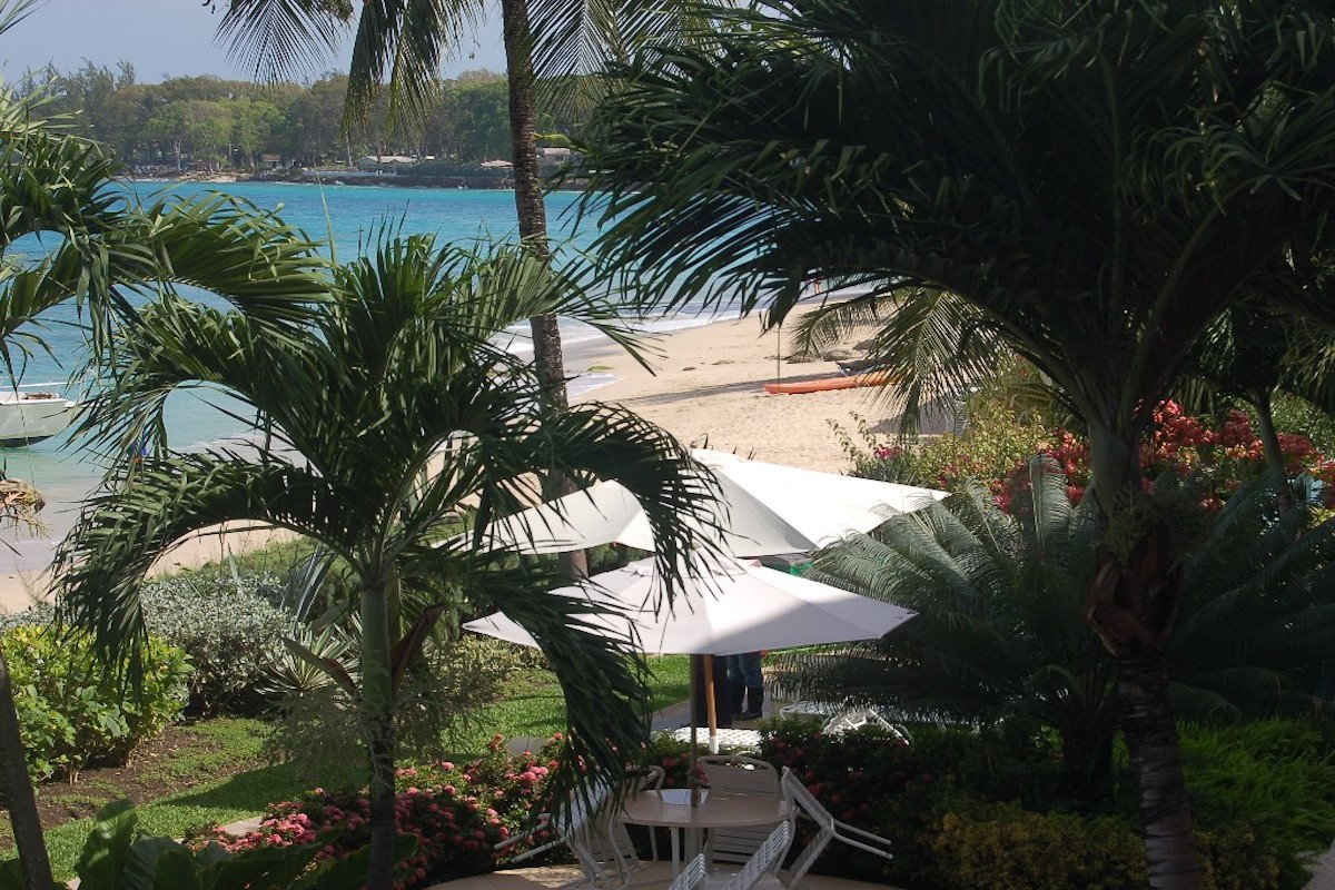 Views from the balcony at Villas on the Beach