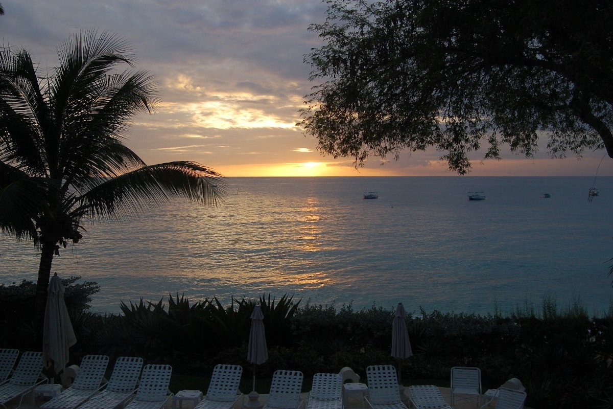 Sunset in Barbados