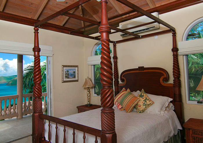Queen Bedroom with balcony access