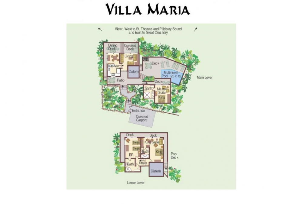 Villa Maria on St. John