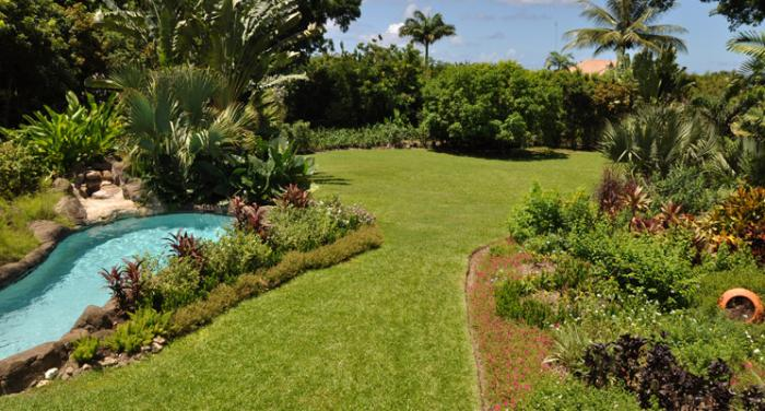 The lovely gardens provide a perfect place to play and picnic
