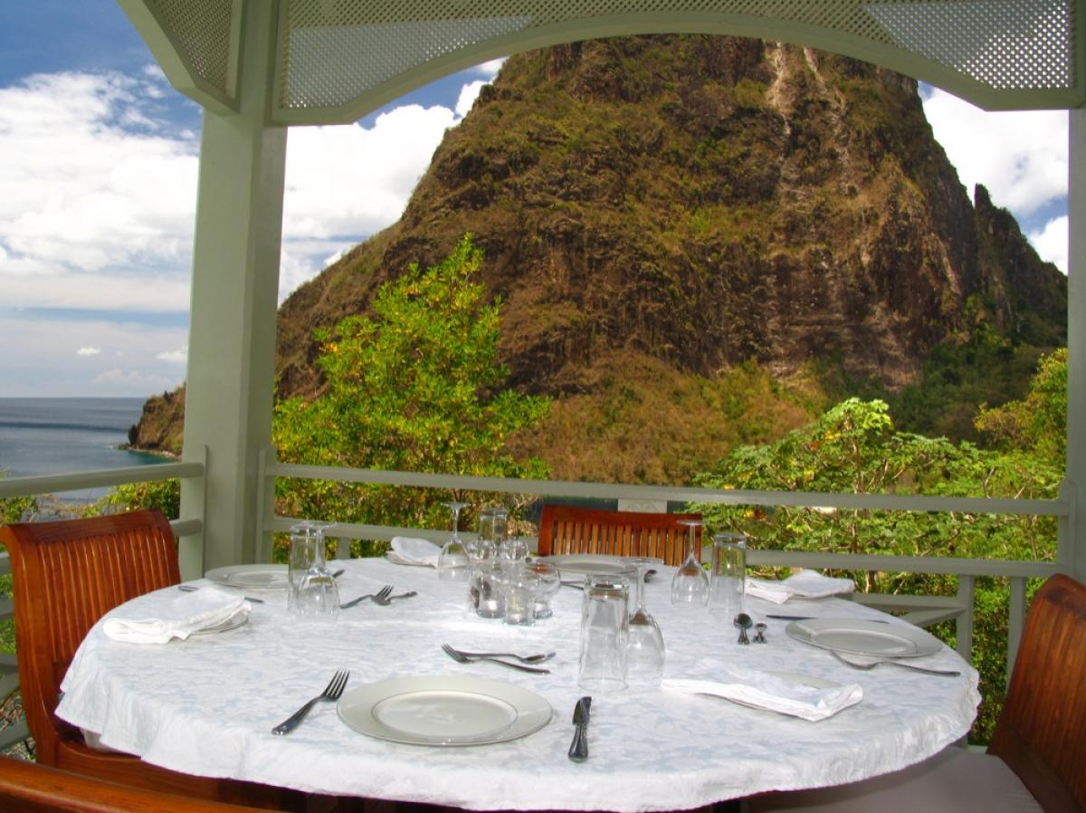 Arc En Ciel Villa on St. Lucia