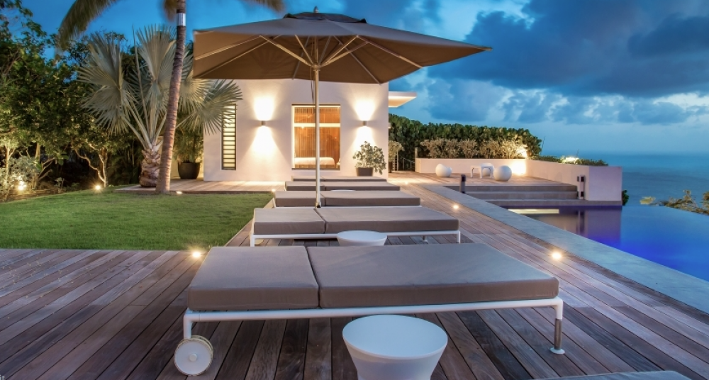 Palm Springs Villa on St. Barts