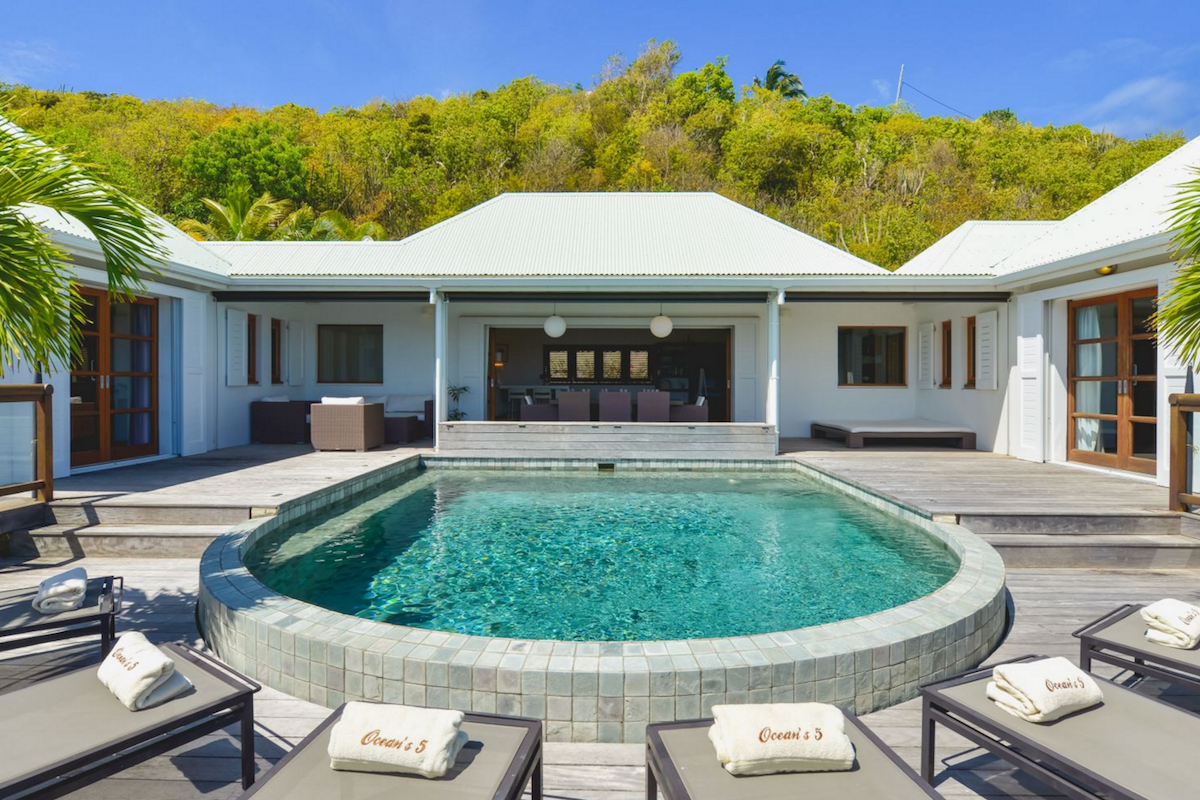 Photo of Ocean's 5 Villa, St. Barts