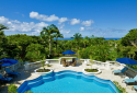 Plantation House has amazing views and a luxurious private pool