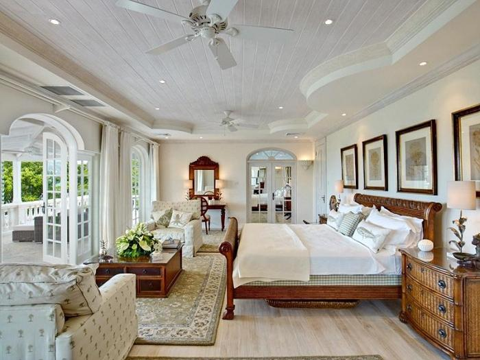 Plantation house barbados villa rental for Plantation style bed